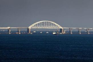 Russian blockade of Kerch Strait causing legal problems