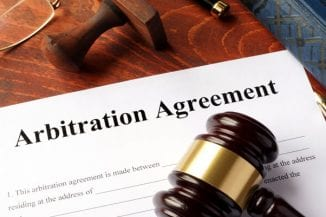 An arbitration agreement can be subject to English law even where the substantive law of the main contract is a foreign law